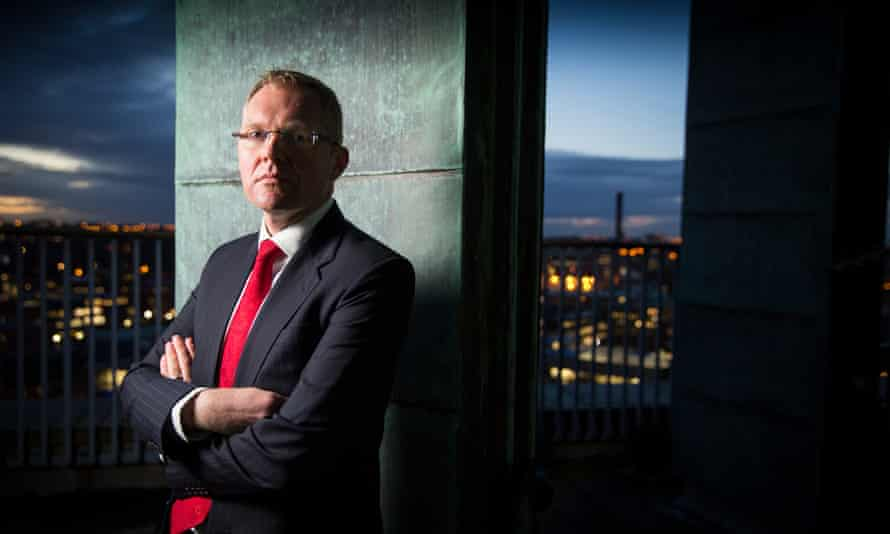 Nick Forbes, the leader of Newcastle council.