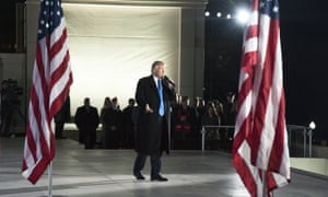 President Trump at the 58th Presidential Inauguration Welcome Concert