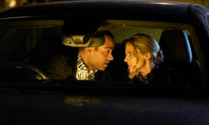 Richie (Ben Bailey Smith) and Fi (Donna Air) in The Split.
