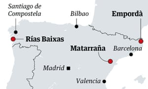 Spain map travel 4 july 2020