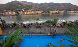The least expensive apartments in Lavasa now sell for between $17,000 and $36,000 – out of reach for most middle-class Indians.