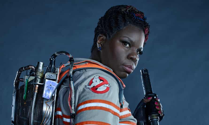 Leslie Jones suffered a torrent of racist abuse when she co-starred in the female-led reboot of Ghostbusters.