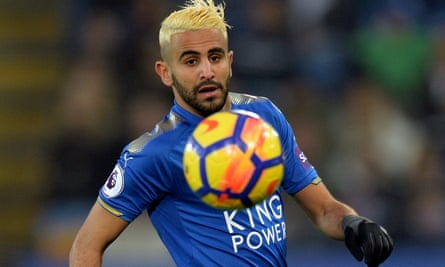 Manchester City were frustrated in their attempts to sign Riyad Mahrez from Leicester City in January
