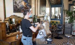 Hairdresser in London