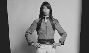 Françoise Hardy photographed in 1968.