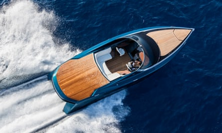 The Aston Martin AM37 powerboat makes its debut at the Monaco yacht show