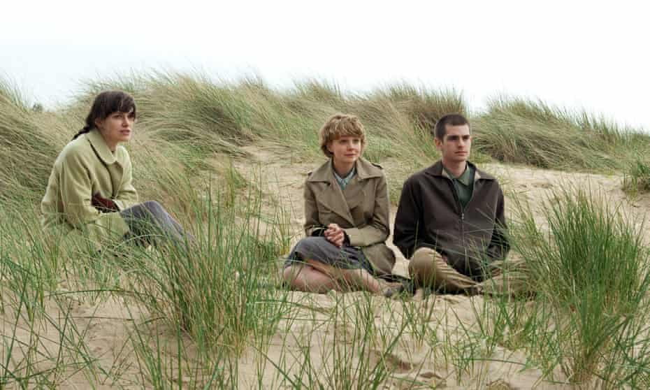 From left: Keira Knightley, Carey Mulligan and Andrew Garfield in the 2010 film adaptation of Never Let Me Go.