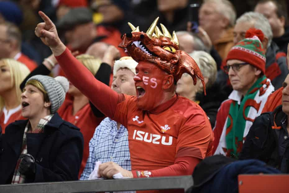 Wales v France at the Principality Stadium, Cardiff, early last year.