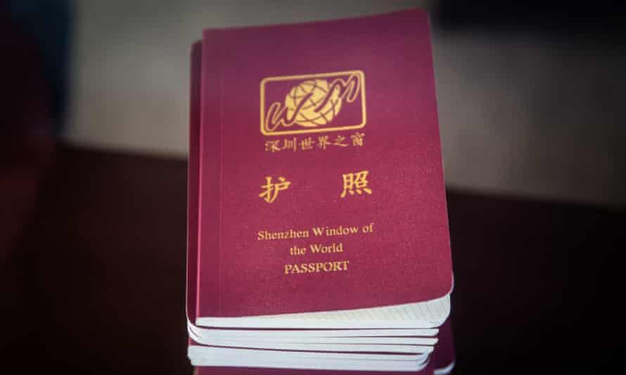 Fake passports for your trip around the world.