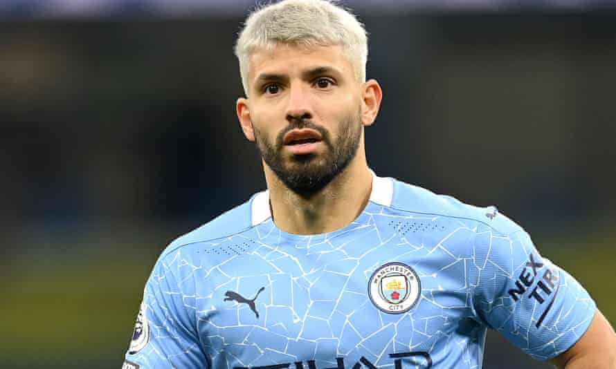 Sergio Agüero has made only four appearances this season