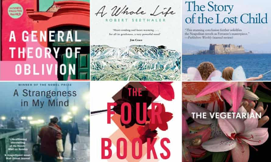 Man Booker prize for translation into english short list