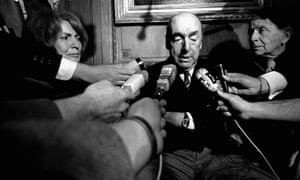 Serious questions to answer ... Pablo Neruda in 1971.