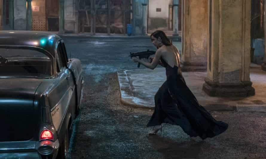 Ana De Armas in No Time to Die.