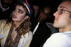 Madonna and Keith Haring