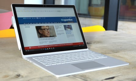 The Microsoft Surface Book is a full-blooded, powerful PC-in-a-screen attached to a very good keyboard body, making it the best Windows 2-in-1 yet, if a laptop is your primary usage.