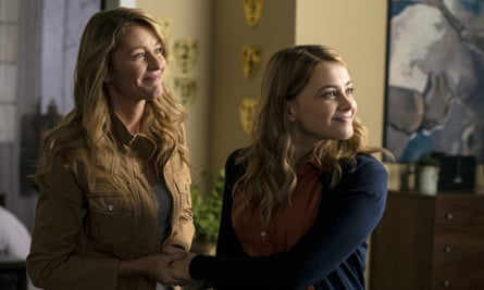 Dynamic family … Louise Lombard and Josephine Langford in After We Collided.