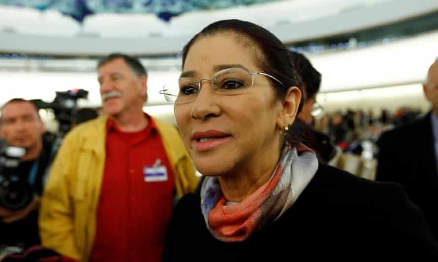 Cilia Flores, wife of Venezuela's president Maduro.