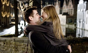 A bridge too far … Colin Farrell and Clemence Poesy in In Bruges.