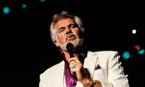 Kenny Rogers performing in 1990.