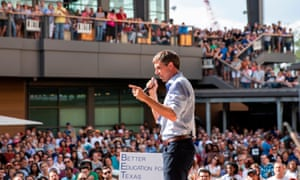 The latest polls put the race between O'Rourke and Senator Ted Cruz within margins of error.