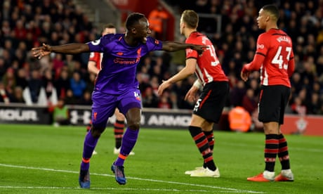 Liverpool recover their composure after Southampton's stinging start