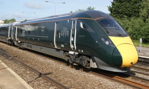 One of GWR's Class 800 Intercity Express trains