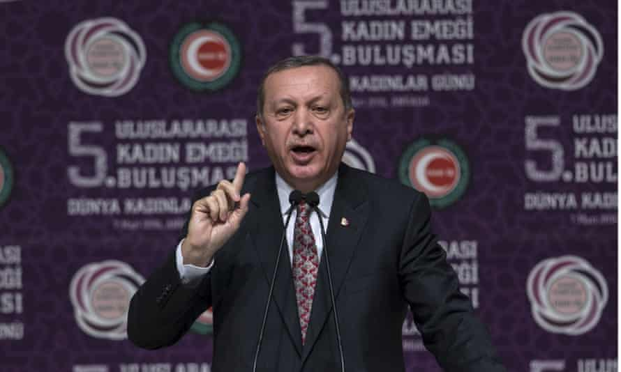 Recep Tayyip Erdoğan address and International Women's Day conference in Ankara
