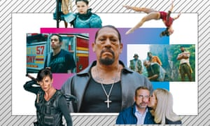 Clockwise from top left: Joan of Arc; Athlete A; Da 5 Bloods; Irresistible; Immate #1: the Rise of Danny Trejo; The Old Guard; The King of Staten Island.