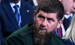 Chechnya's leader Ramzan Kadyrov, here pictured on 8 December 2018 in Moscow, was on 21 May 2020 in hospital in Moscow suffering form suspected coronavirus, Russian news agencies reported. (Photo by Kirill KUDRYAVTSEV / AFP) (Photo by KIRILL KUDRYAVTSEV/AFP via Getty Images)