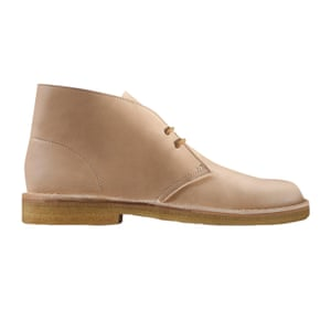 beige desert boots Clarks
