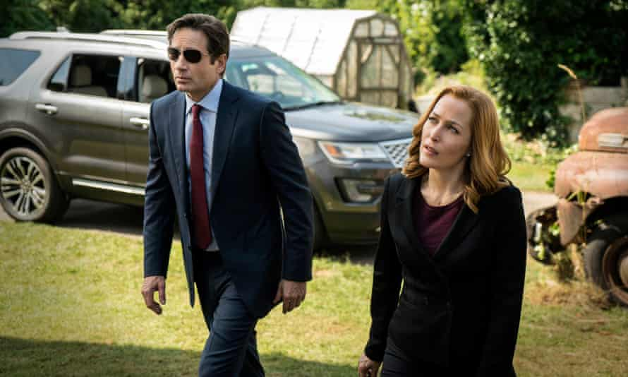 the new TV series of the X Files