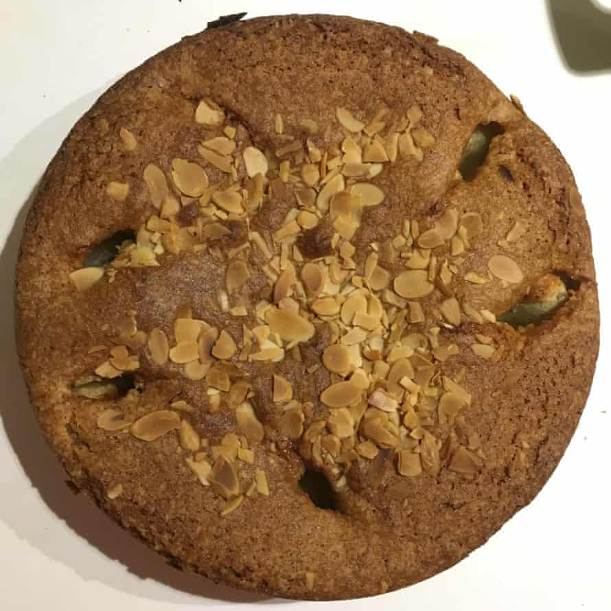 Apple cake by Mary Berry, made with melted butter.
