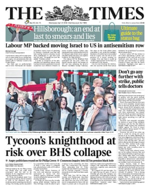 The Times, second edition - 27 April 2016