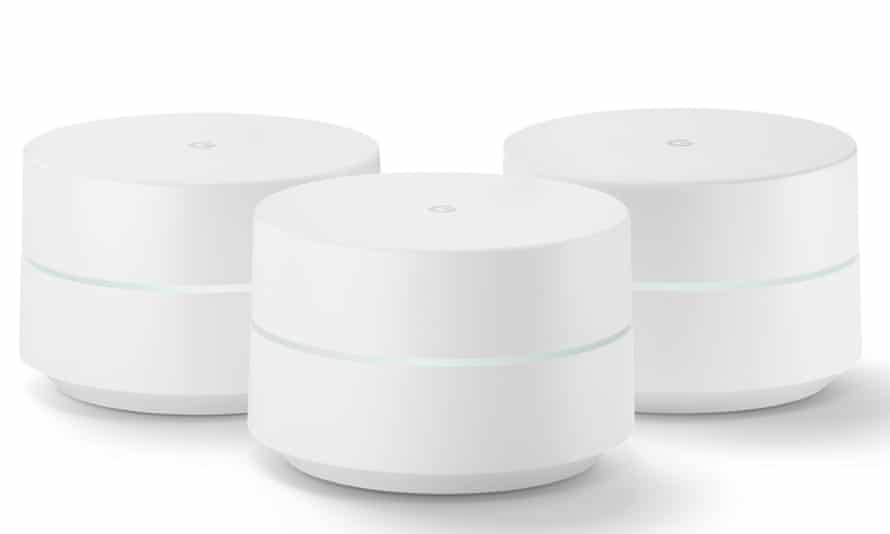 Google's Wi-Fi router, available soon.