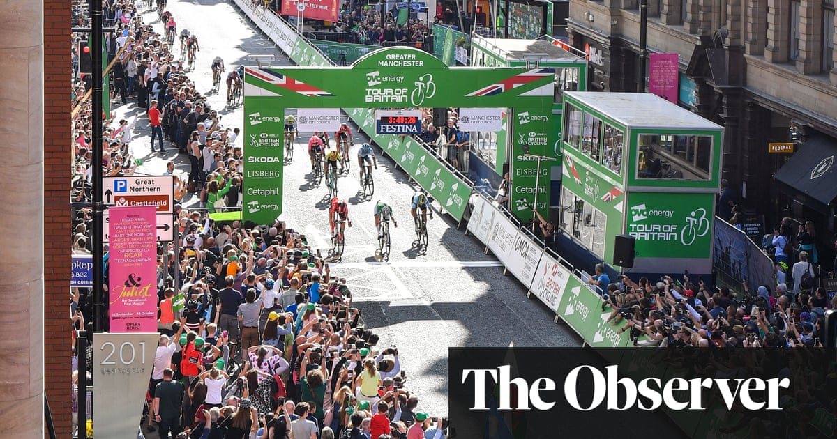 Mathieu van der Poel takes final stage and Tour of Britain glory