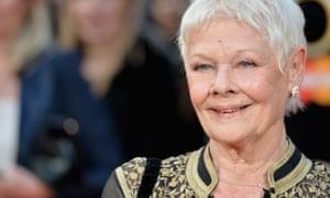 Meritocratic honours... Judi Dench at the Olivier awards.