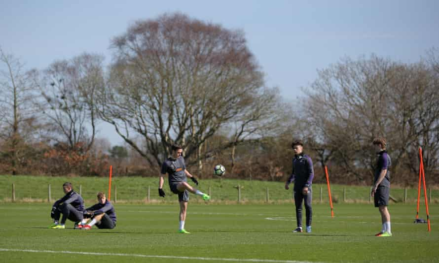 Swansea City's Under-23 players prepare for their International Cup game against Porto at the club's Fairwood training ground.