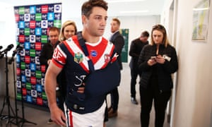 Sydney Roosters player Cooper Cronk is facing a difficult week, physically and emotionally.