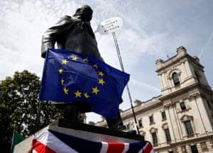 An EU flag