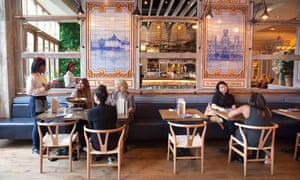 'There are great ideas and good intent hiding somewhere': Tapas Revolution at Westfield Stratford, London.