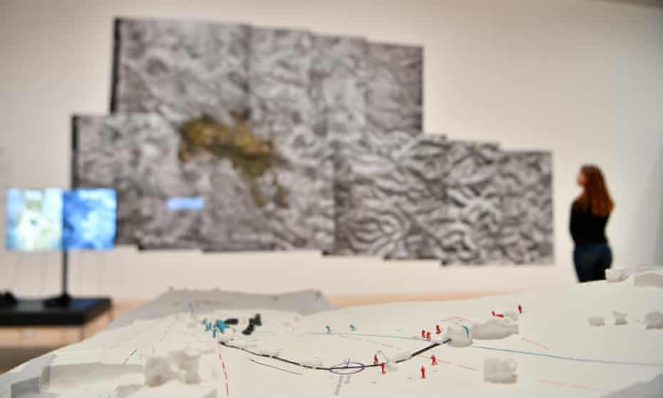 Strong contender … Forensic Architecture at the Turner prize exhibition in 2018.