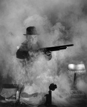 James Cagney in White Heat, Los Angeles, 1949