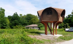 Le Haut-Perché, one of the latest shelters to be added to the collection. Bordeaux, France.