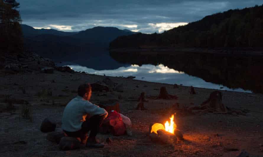 Loch A'Mheadhoin. Wild Guide Scotland
