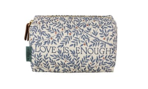 Linen cosmetic bag, £16 available at www.heathcote-ivory.com