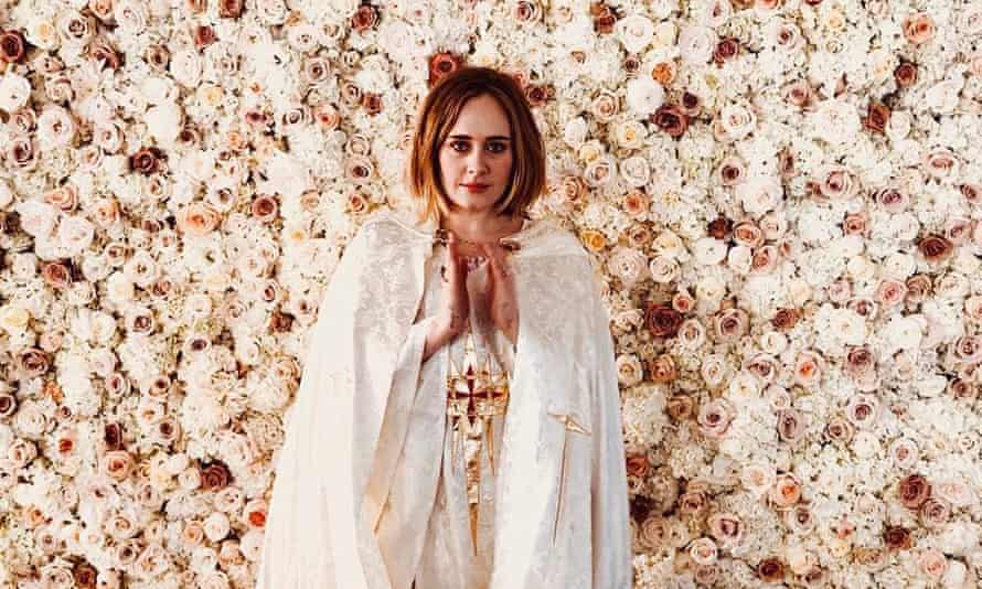 Adele at Alan Carr's wedding in Los Angeles. The singer was ordained so she could marry him to his long-term partner Paul Drayton.