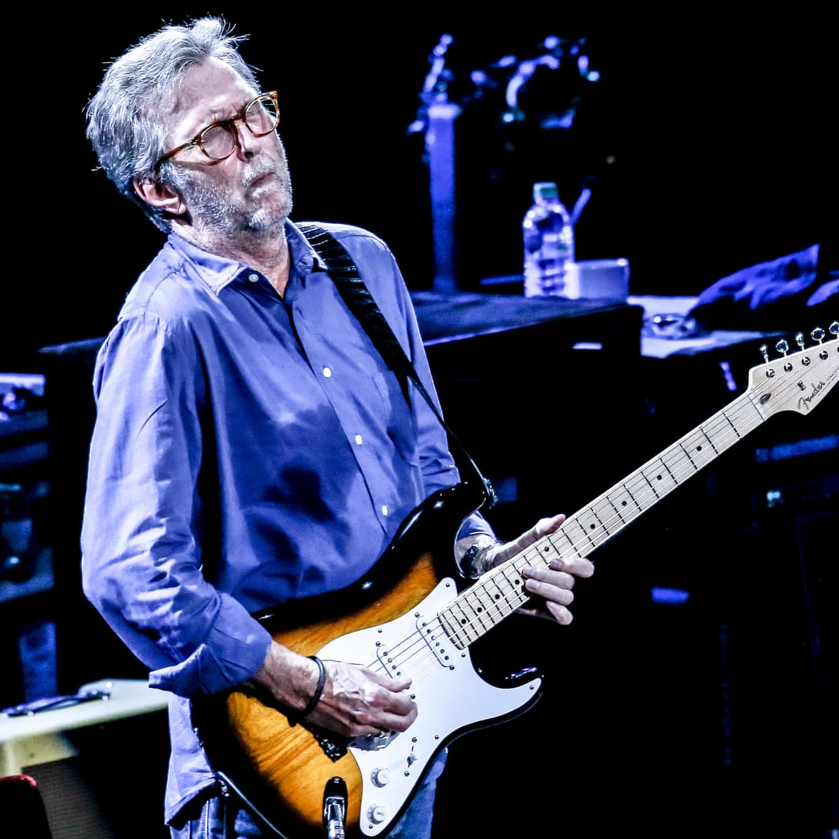 Eric Clapton Happy Xmas Review The Ghost Of Christmas Songs Past Eric Clapton The Guardian