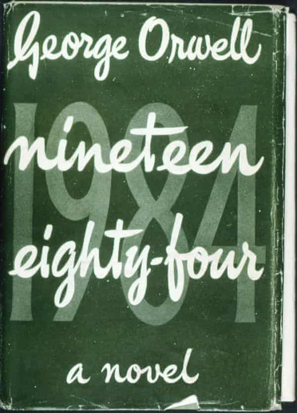 A 1949 first edition of Nineteen Eighty-Four.