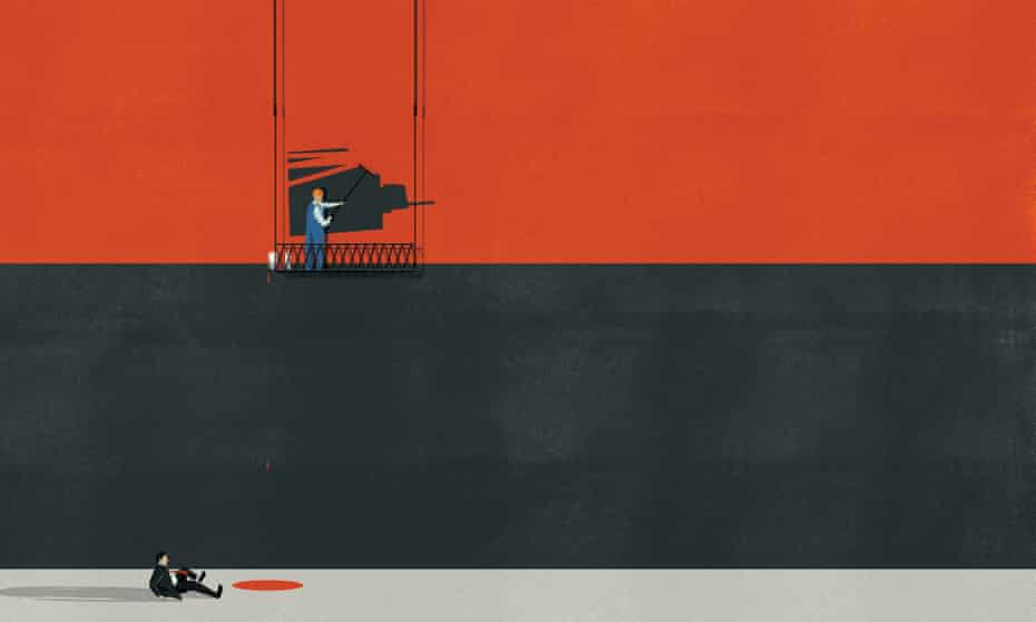 Red alert … Illustration by Andrea Ucini