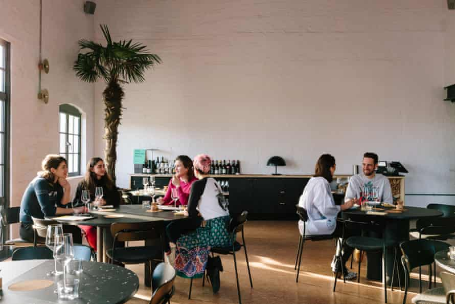 Silo, London: ' 'The experience suggests that, in the future, going out for dinner won't be a whole lot of fun''. SILO-Guardian Grace Dent-Interior-2